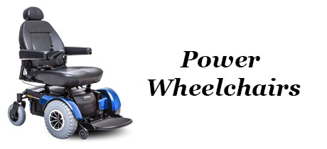 Medical Equipment - Banner - Power Wheelchairs
