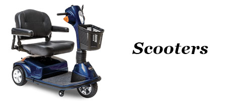 Medical Equipment - Banner - Scooters